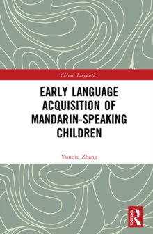 Early Language Acquisition of Mandarin-Speaking Children, PDF eBook