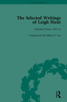 The Selected Writings of Leigh Hunt Vol 2, PDF eBook