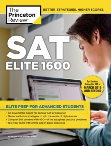 Sat Elite 1600, 2Nd Edition, Paperback Book