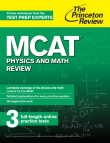 MCAT Physics and Math Review, EPUB eBook