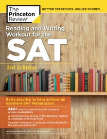 Reading and Writing Workout for the SAT, Paperback / softback Book