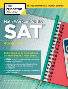 Math Workout for the SAT, Paperback Book