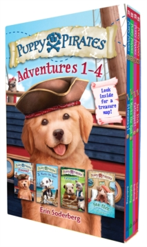 Puppy Pirates Adventures 1-4 Boxed Set, Paperback / softback Book
