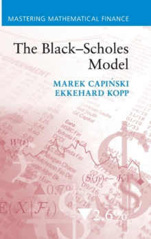 The Black-Scholes Model, Hardback Book