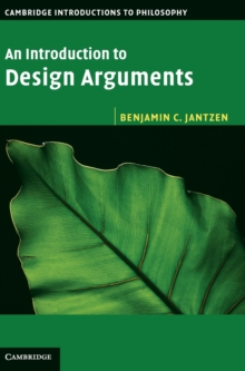 An Introduction to Design Arguments, Hardback Book