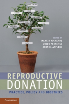 Reproductive Donation : Practice, Policy and Bioethics, Hardback Book