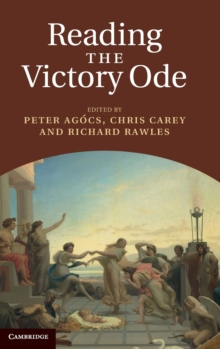 Reading the Victory Ode, Hardback Book