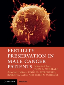 Fertility Preservation in Male Cancer Patients, Hardback Book