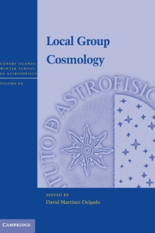 Local Group Cosmology, Hardback Book