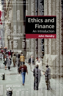 Ethics and Finance : An Introduction, Hardback Book