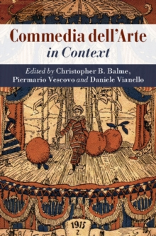 influence of commedia dell arte on shakespearean Free essay: the influence of commedia dell'arte on much ado about nothing by william shakespeare commedia dell'arte had great influence of shakespeare's.