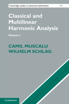 Classical and Multilinear Harmonic Analysis 2 Volume Set, Mixed media product Book