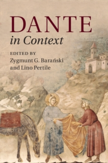 Literature in Context : Dante in Context, Hardback Book