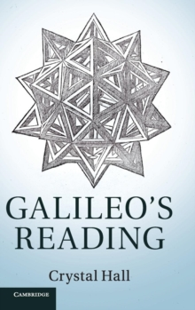 Galileo's Reading, Hardback Book