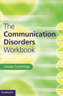 The Communication Disorders Workbook, Hardback Book