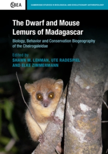 The Dwarf and Mouse Lemurs of Madagascar : Biology, Behavior and Conservation Biogeography of the Cheirogaleidae, Hardback Book