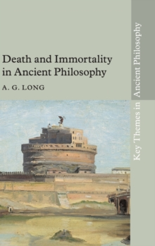 Death and Immortality in Ancient Philosophy, Hardback Book