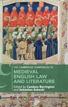 The Cambridge Companion to Medieval English Law and Literature, Hardback Book
