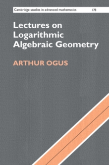 Lectures on Logarithmic Algebraic Geometry, Hardback Book