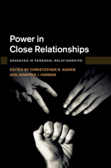 Power in Close Relationships, Hardback Book