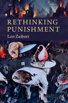 Rethinking Punishment, Hardback Book
