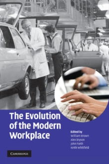 The Evolution of the Modern Workplace, Paperback / softback Book