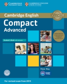Compact Advanced Student's Book Pack (Student's Book with Answers with CD-ROM and Class Audio CDs(2)), Mixed media product Book