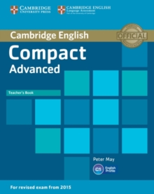 Compact Advanced Teacher's Book, Paperback / softback Book