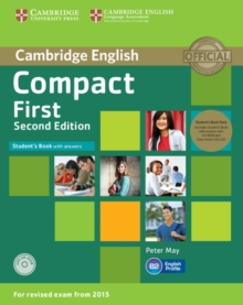 Compact First Student's Book Pack (Student's Book with Answers with CD-ROM and Class Audio CDs(2)), Mixed media product Book