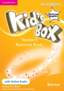 Kid's Box American English Starter Teacher's Resource Book with Online Audio, Mixed media product Book