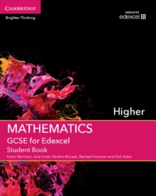 GCSE Mathematics for Edexcel Higher Student Book, Paperback Book