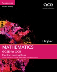 GCSE Mathematics for OCR Higher Problem-Solving Book, Paperback Book