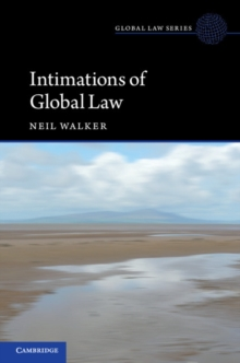 Intimations of Global Law, Paperback / softback Book