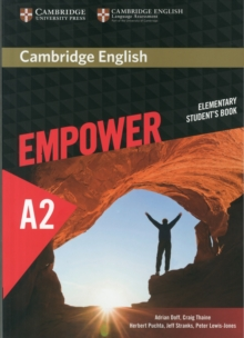 Cambridge English Empower Elementary Student's Book : Cambridge English Empower Elementary Student's Book Elementary, Paperback Book