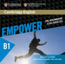 Cambridge English Empower Pre-Intermediate Class Audio CDs (3), CD-Audio Book