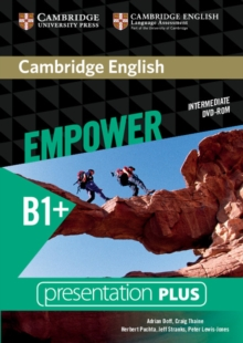 Cambridge English Empower Intermediate Presentation Plus (with Student's Book), DVD-ROM Book