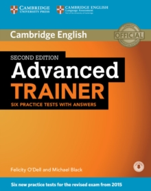 Advanced Trainer Six Practice Tests with Answers with Audio, Mixed media product Book
