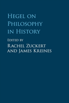 Hegel on Philosophy in History, Paperback / softback Book