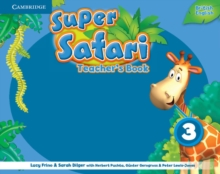 Super Safari Level 3 Teacher's Book, Spiral bound Book