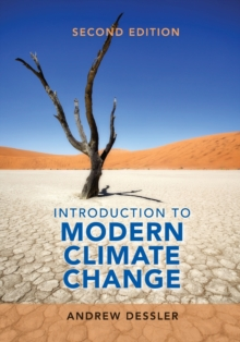 Introduction to Modern Climate Change, Paperback / softback Book