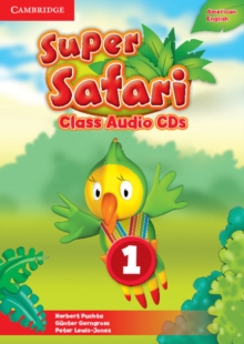 Super Safari American English Level 1 Class Audio CDs (2), CD-Audio Book