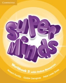 Super Minds Level 5 Workbook with Online Resources, Mixed media product Book