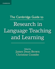 The Cambridge Guide to Research in Language Teaching and Learning, Paperback / softback Book