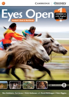 Eyes Open : Eyes Open Level 1 Combo A with Online Workbook and Online Practice, Mixed media product Book