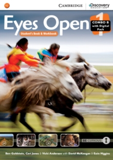 Eyes Open : Eyes Open Level 1 Combo B with Online Workbook and Online Practice, Mixed media product Book
