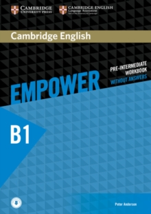 Cambridge English Empower Pre-Intermediate Workbook Without Answers with Downloadable Audio, Mixed media product Book