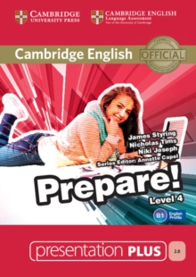 Cambridge English Prepare! : Cambridge English Prepare! Level 4 Presentation Plus DVD-ROM, DVD-ROM Book