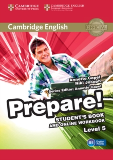 Cambridge English Prepare! : Cambridge English Prepare! Level 5 Student's Book and Online Workbook, Mixed media product Book