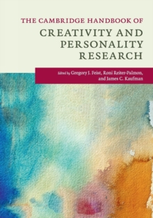 The Cambridge Handbook of Creativity and Personality Research, Paperback / softback Book