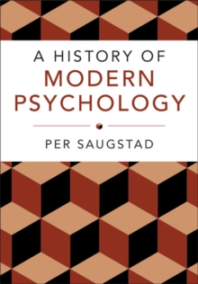 A History of Modern Psychology, Paperback / softback Book